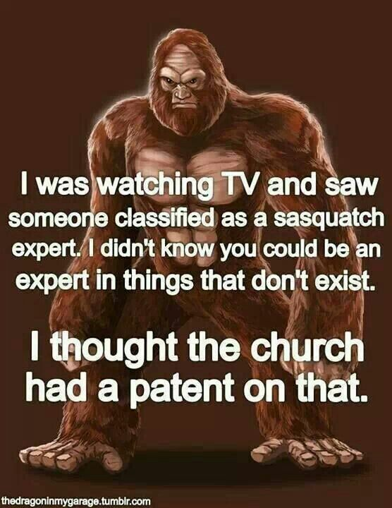 Church has a patent on that.