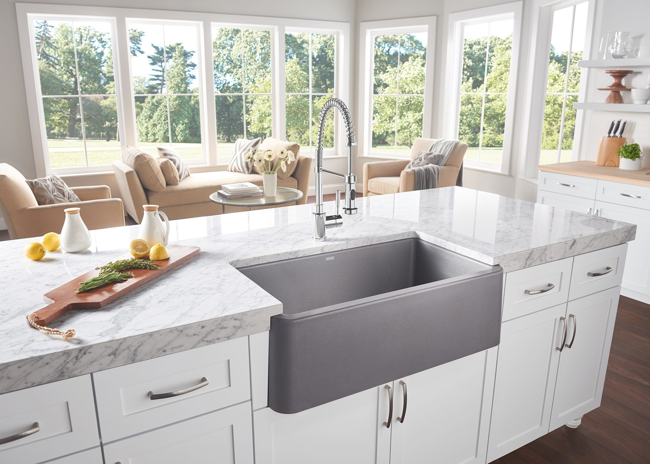 Blanco Ikon A Front Sink With New 33 Bowl