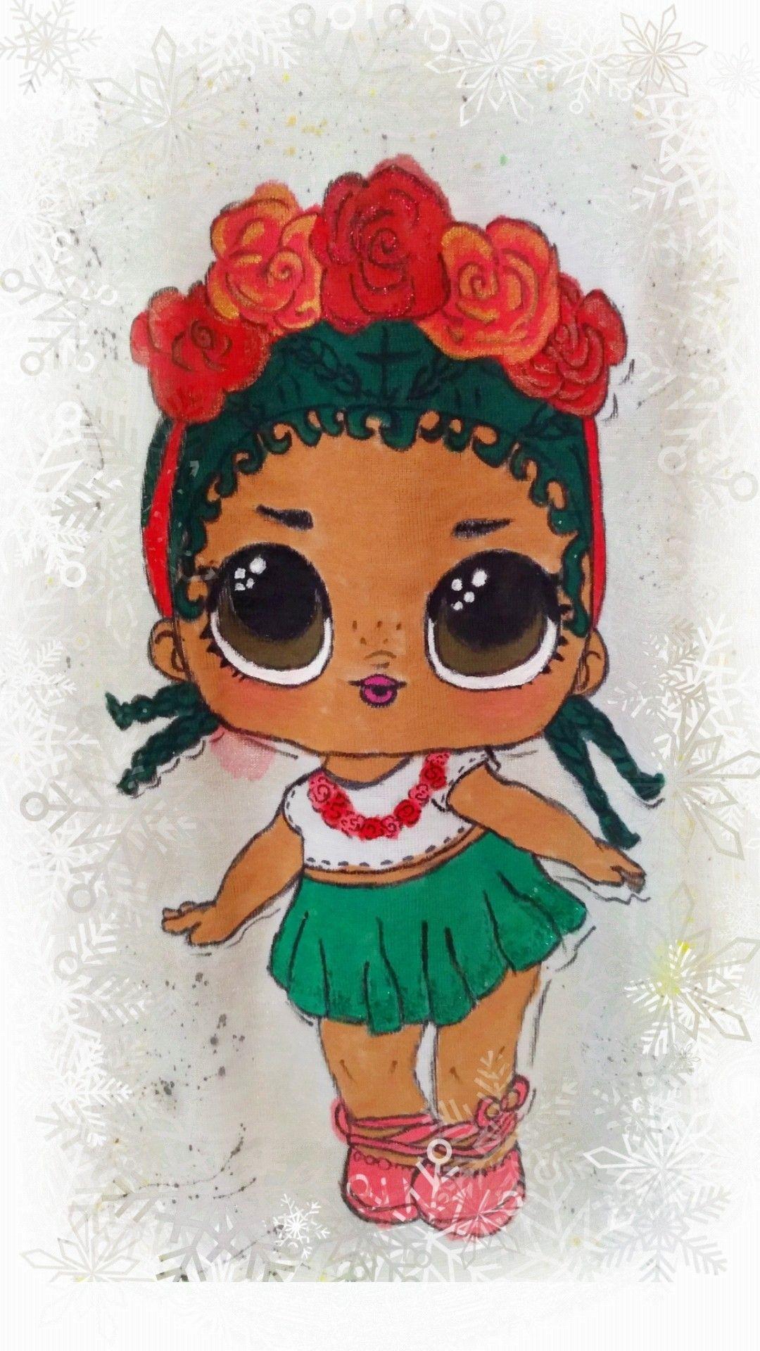 Кукла Лол | Рисунок на футболке, Куклы, Рисунок