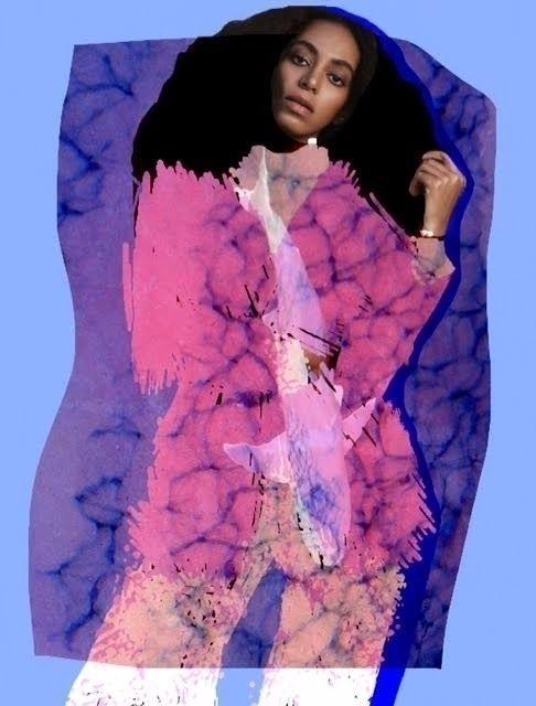 #Solange #digital #collage
