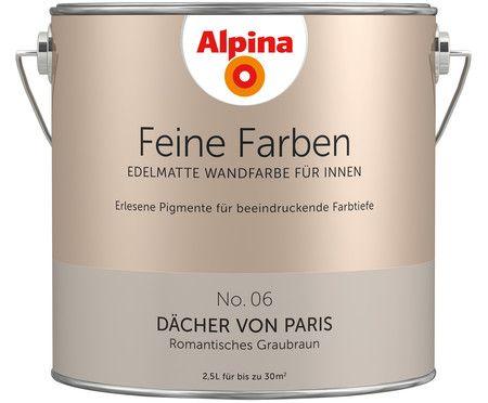 Raum Für Raum Einen Passenden Anstrich Für Ihr Zu Hause: Wandfarbe Hüterin  Der Freiheit In Grün Von ALPINA FEINE FARBEN Bei U003eu003e WestwingNow.