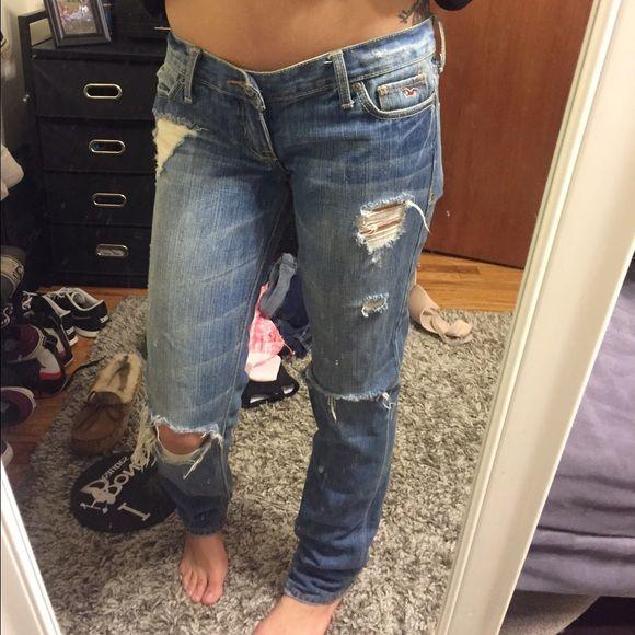 NWOT Hollister ripped jeans NWOT Hollister ripped jeans. 10/10 condition. Hollister Jeans