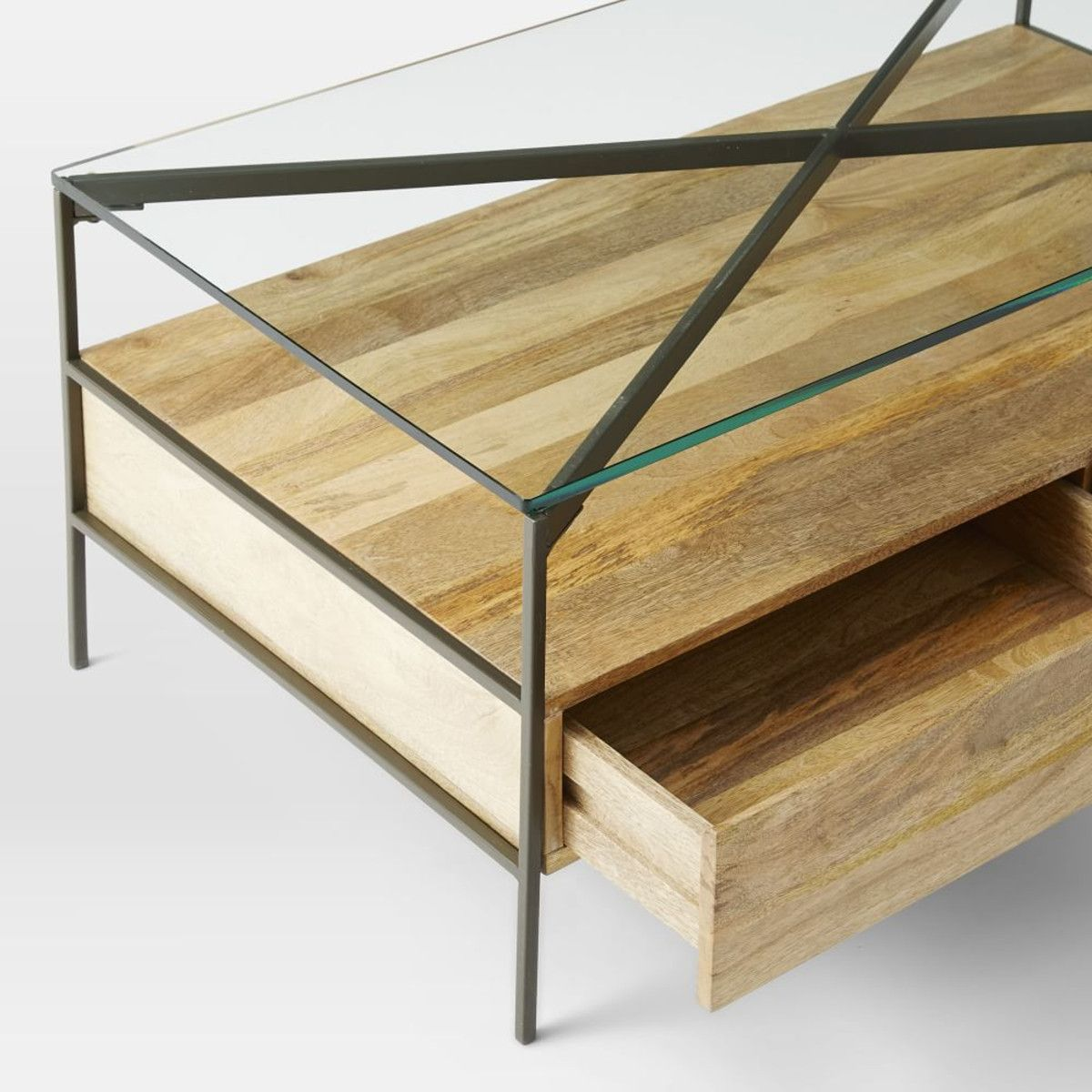 who makes west elm furniture. glasstopped rustic storage coffee table west elm furniture makes me cry with happiness who