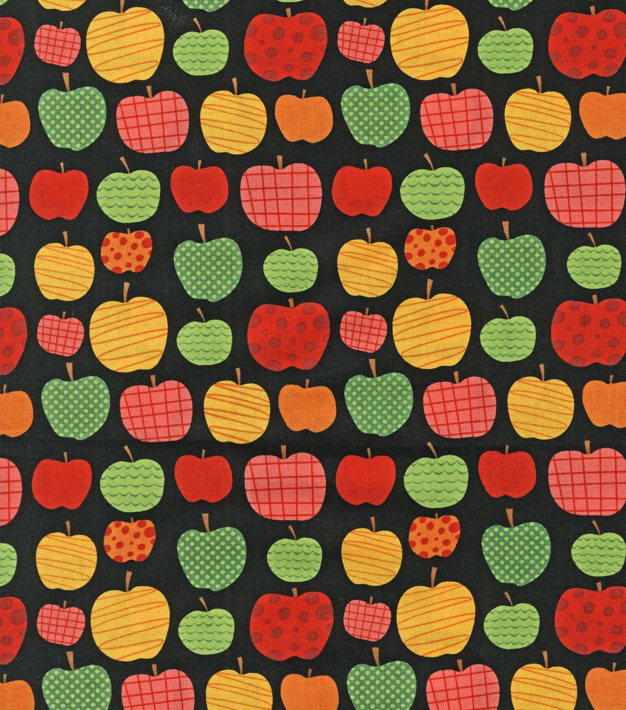 Novelty Cotton Fabric- Teacher's Apple at Joann com