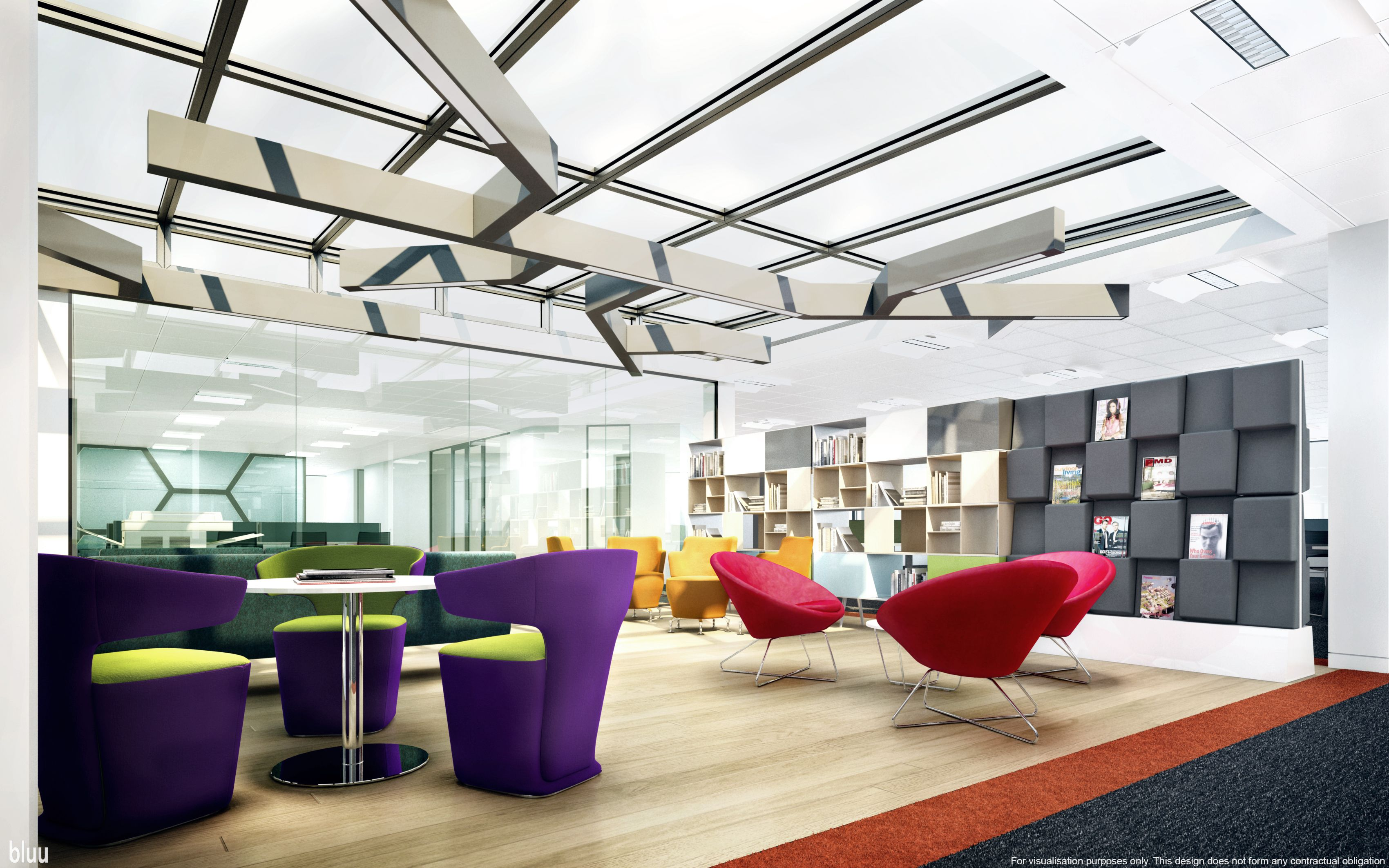 Love this leisure reading room pilkington 4th view06 reva for Reading space design