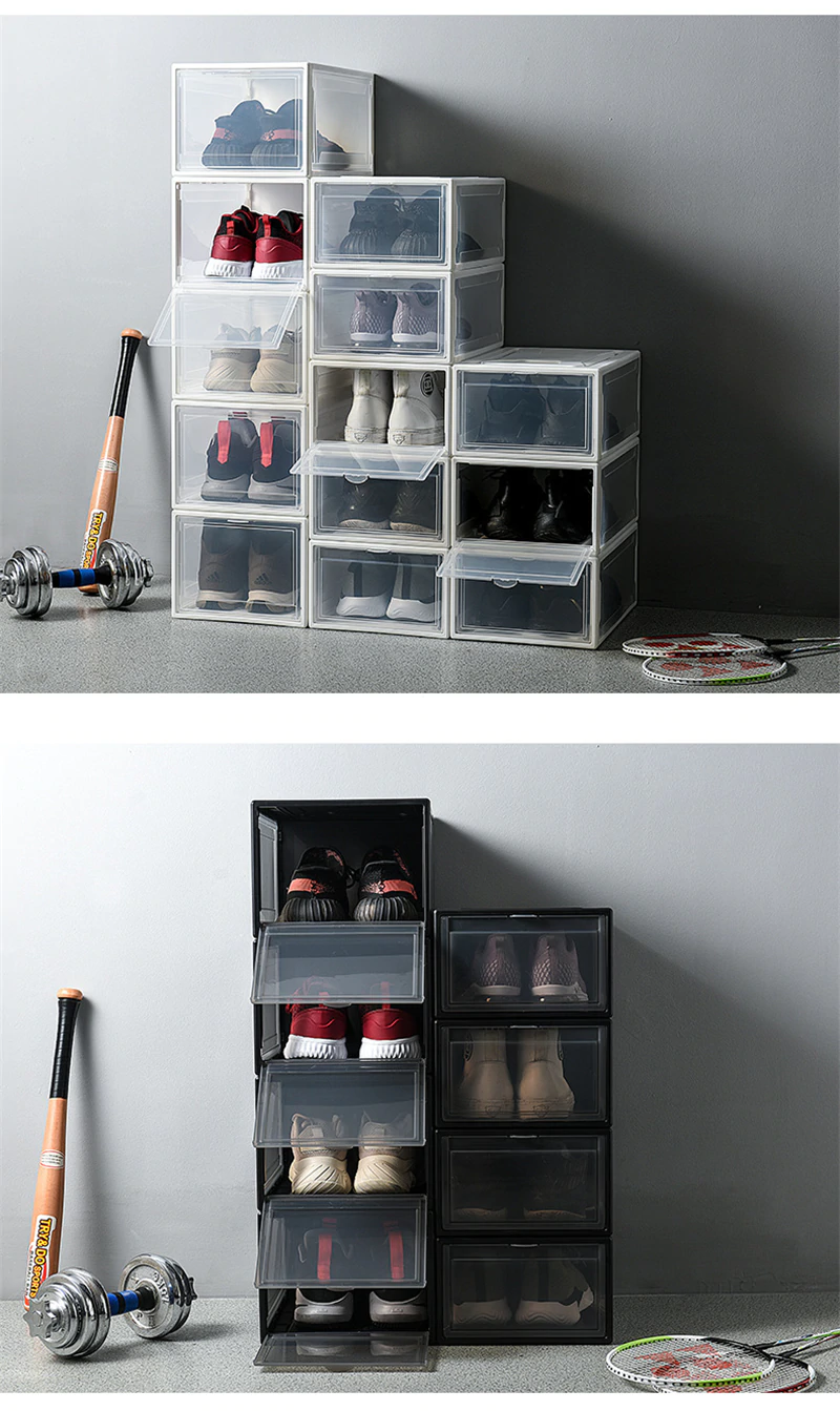 Dust Proof Water Proof Plastic Shoes Storage Box 53 99 Excelsior Kitchen Shoe Storage Storage Box Storage