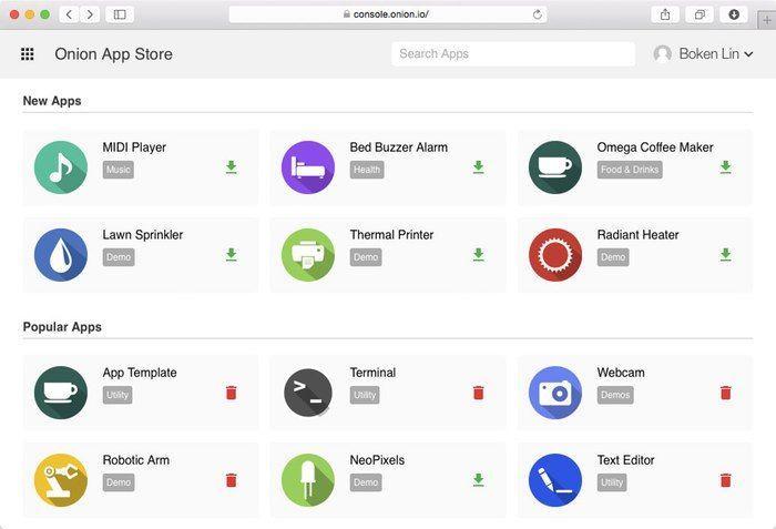 Onion Omega - Build Hardware With JavaScript, PHP, Python by Onion — Kickstarter
