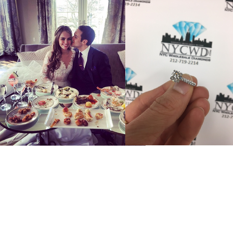 Huge Congratulations To Nycwd Couple Bryan And Sara Check Out Bryan S Full Review On Our Yelp Page Wholesale Diamonds Nyc Online Reviews