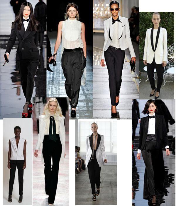 Women\'s Tuxedo Fashion Trend | Women tuxedo, Ladies suits and Woman
