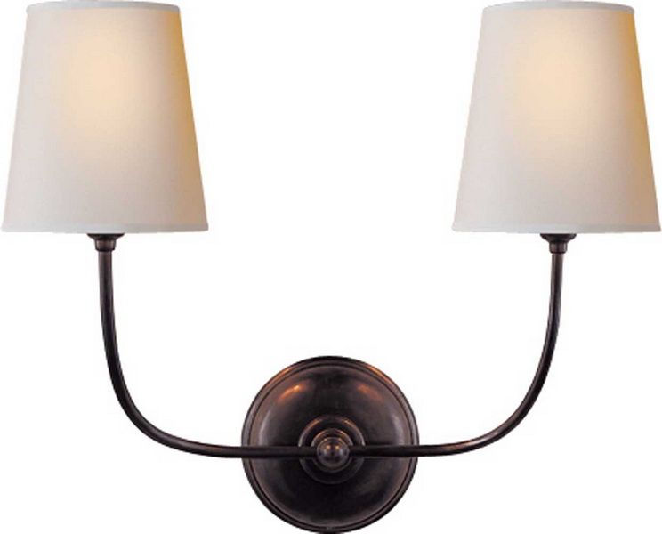Vendome Double Sconce   Traditional   Bathroom Lighting And Vanity Lighting    Circa Lighting