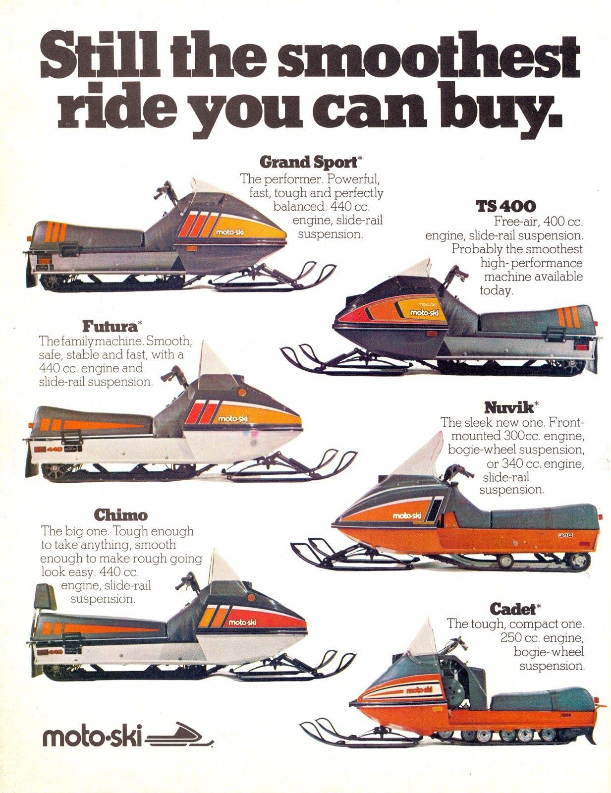 Moto Ski Brochure