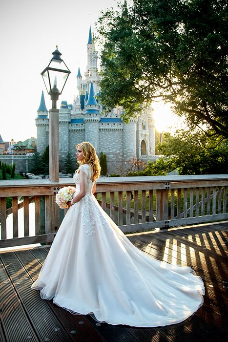 2887057a835 This is wedding goals!!  princess  wedding  dress and  castle  cinderella   love  perfect  bridal  gown  disney  theme  ideas