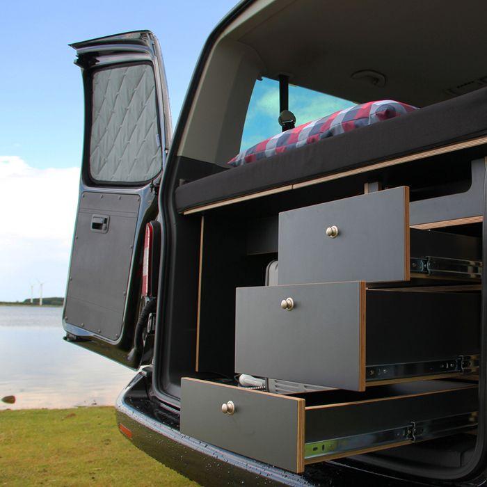 Camping Küche Ideen: KAUA'I Camper - Stecksystem VW T5 - KAUAI Camper