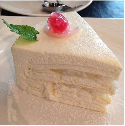 Yummy angel food cake! ❤