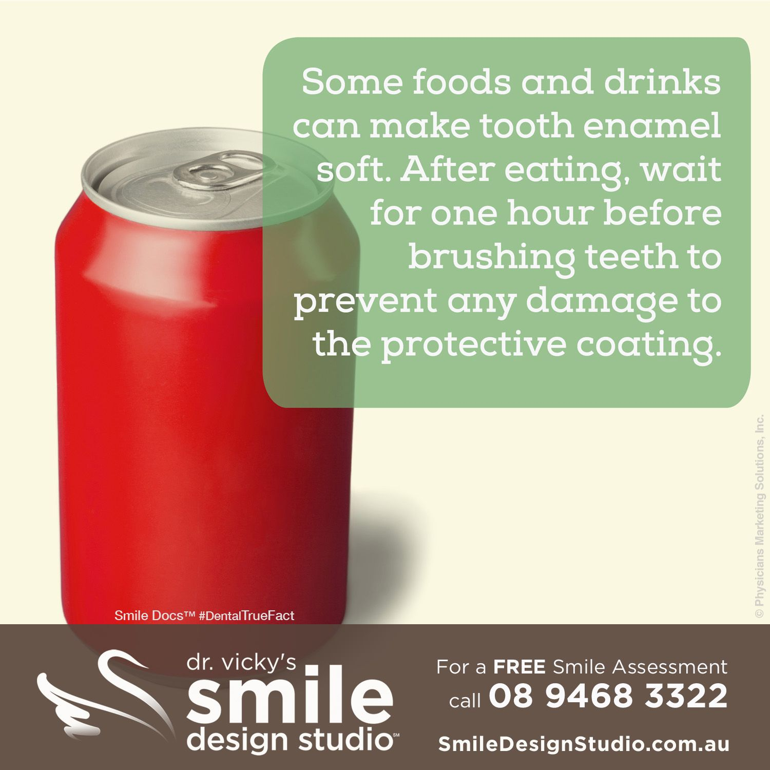 dental jobs teeth wait eating after any brushing tooth enamel hour drinks foods soft before some