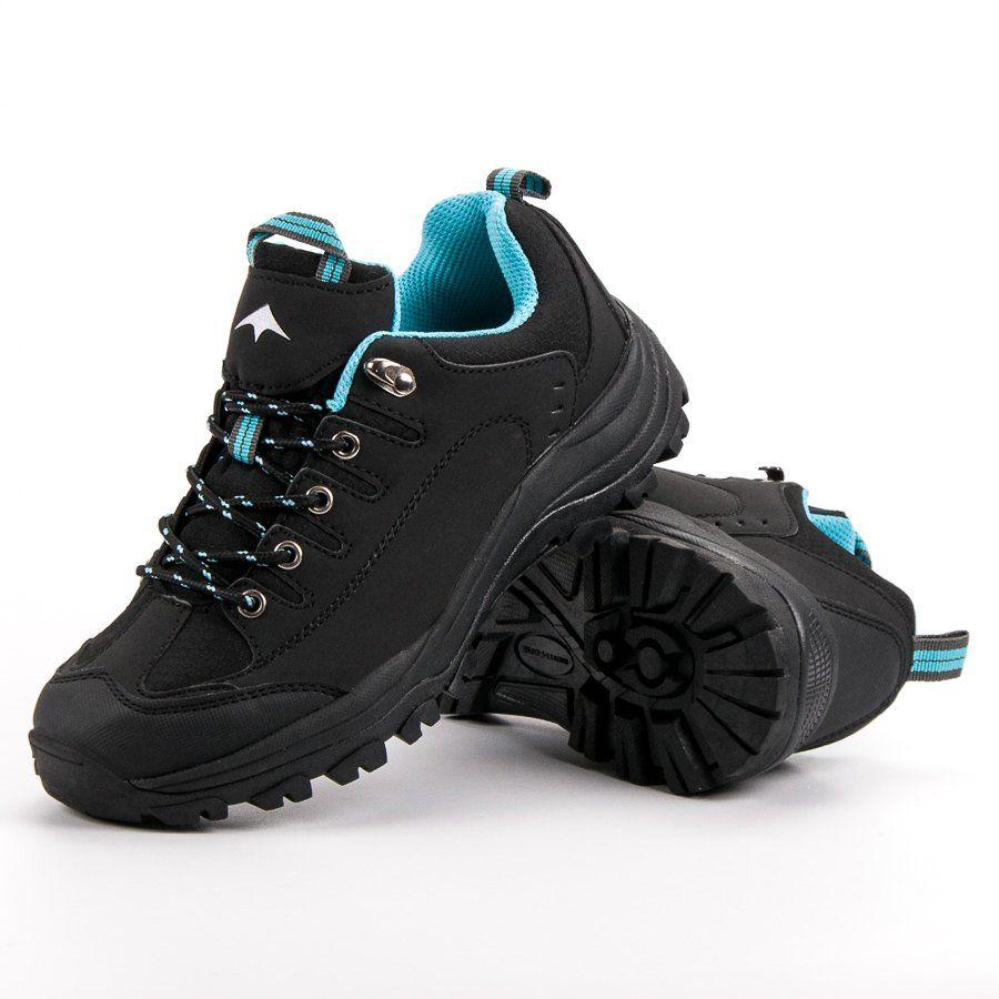 Czarne Buty Trekkingowe Hiking Boots Shoes Boots