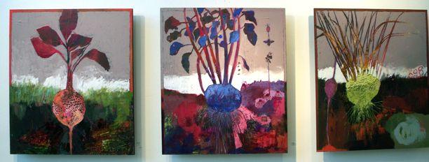 Tuber paintings by Sheep Jones -2011