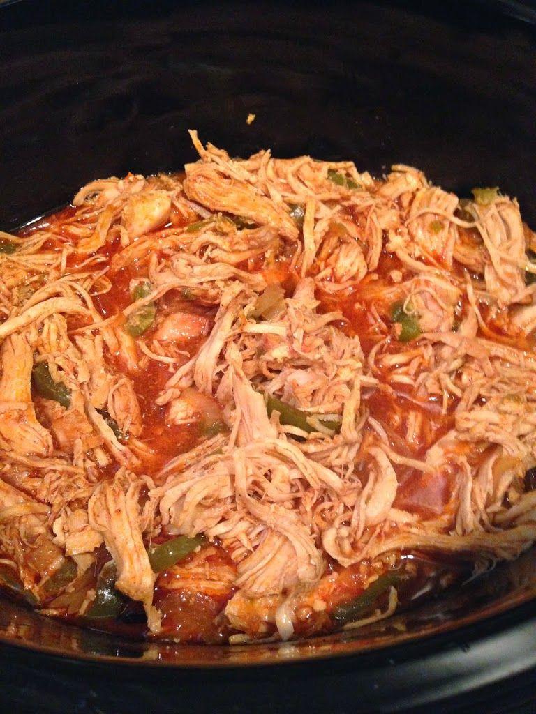 Slow Cooker Chicken Fajitas   The Cookin Chicks