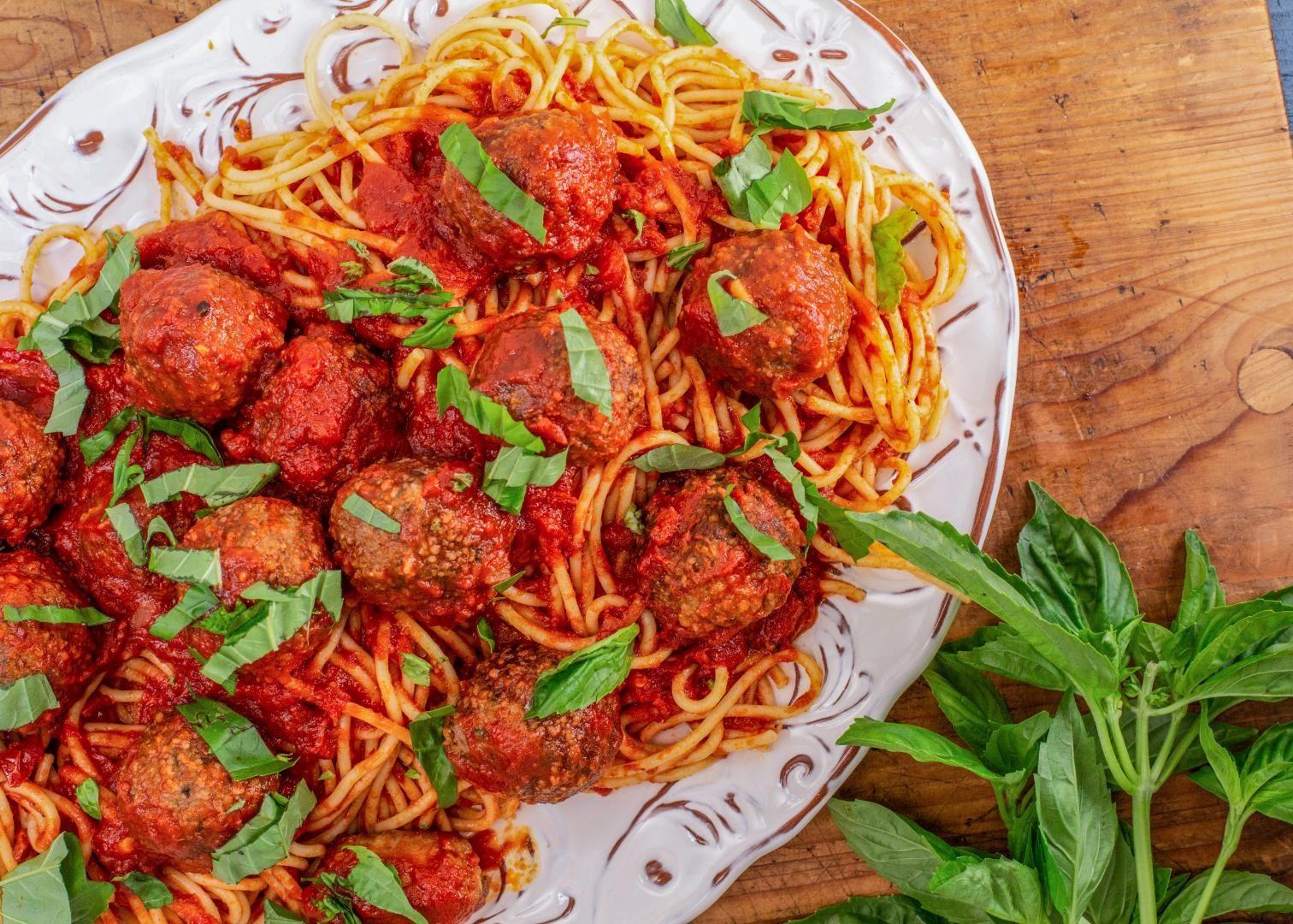 Elisabeth hasselbecks glutenfree spaghetti and meatballs