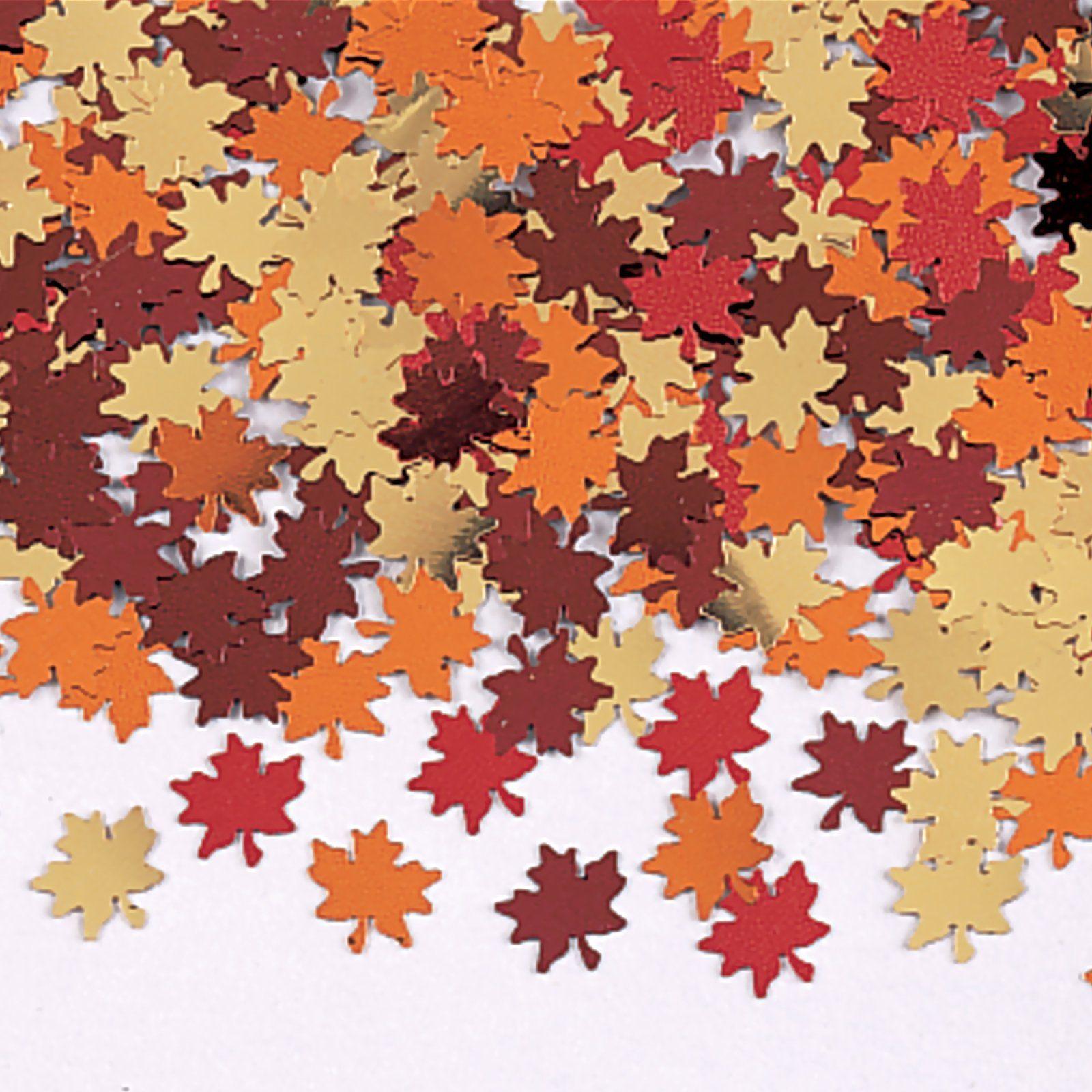 Fall leaf confetti   Confetti .*:*.*   Pinterest   Confetti ...