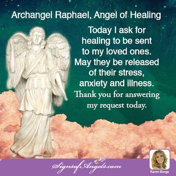 Angel Raphael Prayer – Daily Motivational Quotes