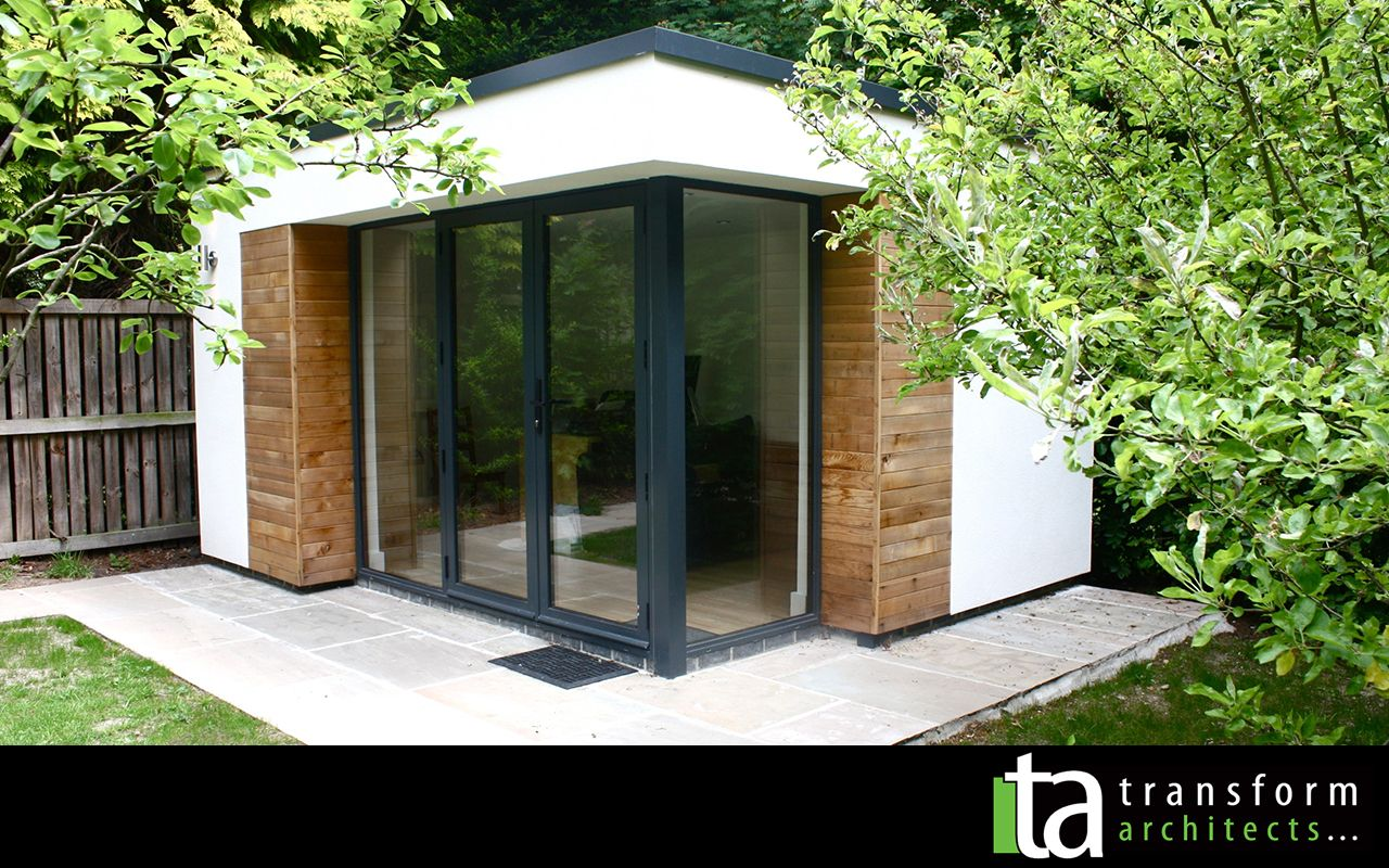 Contemporary Garden Room Gl Corner