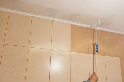 Epoxy Paint Intended For Painting Bathroom Ceilings