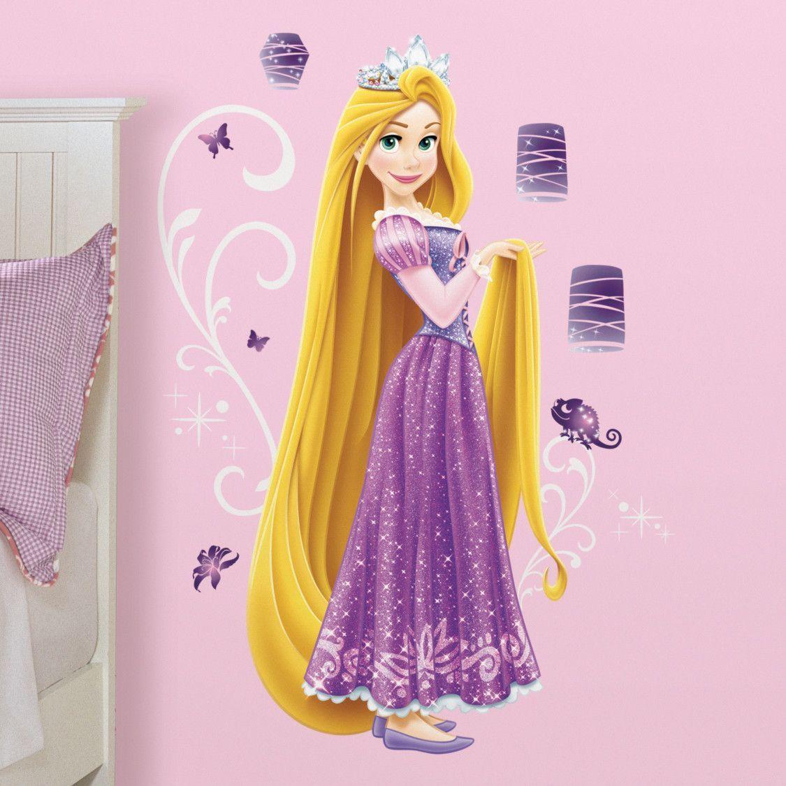 Disney Princess Rapunzel Giant Wall Decal Disney Princess Rapunzel