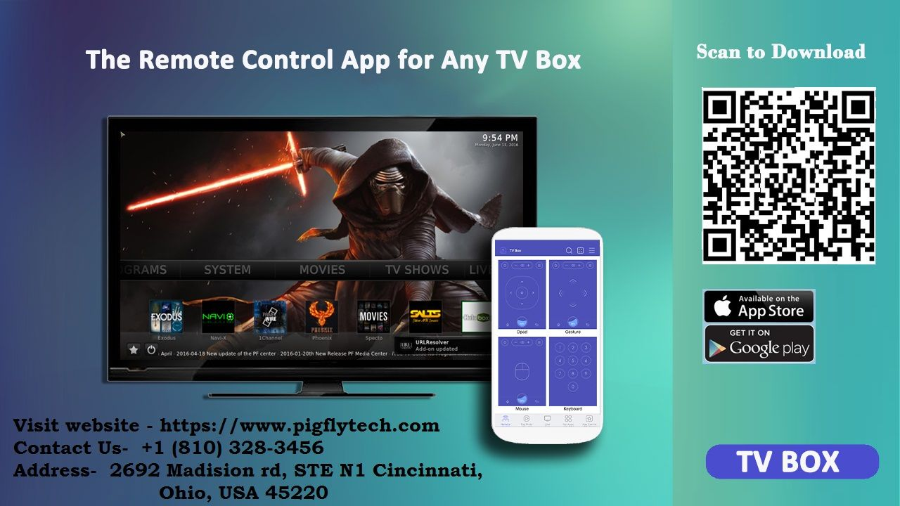 Pigfly tv box