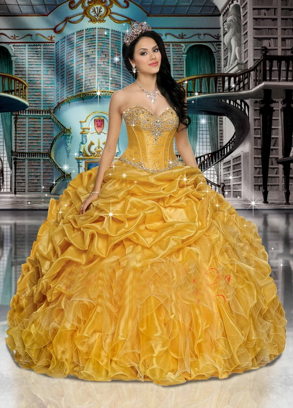 Quinceanera Dress Qps27635 In 2019 Beauty And The Beast