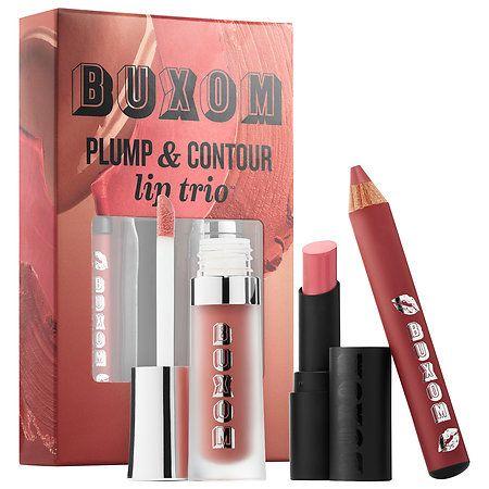 Plump And Contour Lip Trio Buxom Sephora Lip Plumper Buxom Lip Sephora Lip