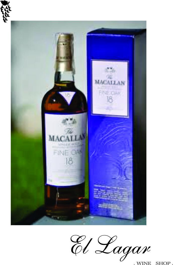 Uno de los mejores whiskies de malta del mundo. Equilibrado, suave.Insistencia en el uso de barriles de Jerez para su maduración. @vinotecaellagar