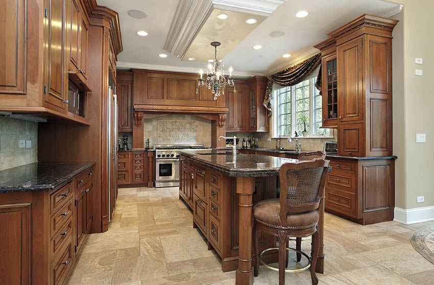 Traditional Kitchen Cabinets (Design Ideas) #traditionalkitchen