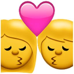 Kiss Emoji U 1f48f U 1f469 U 200d U 2764 U Fe0f U 200d U 1f48b U 200d U 1f468 U E111 Emoji Kiss Emoji Emoticon