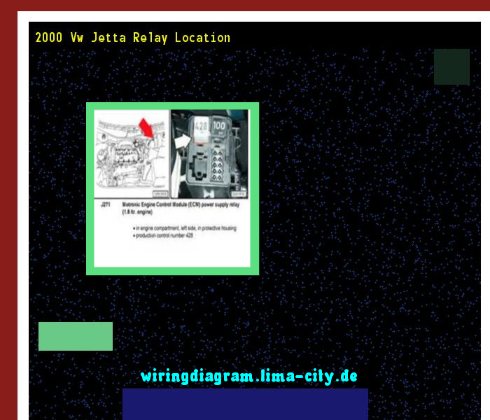2000 Vw Jetta Relay Location  Wiring Diagram 17521