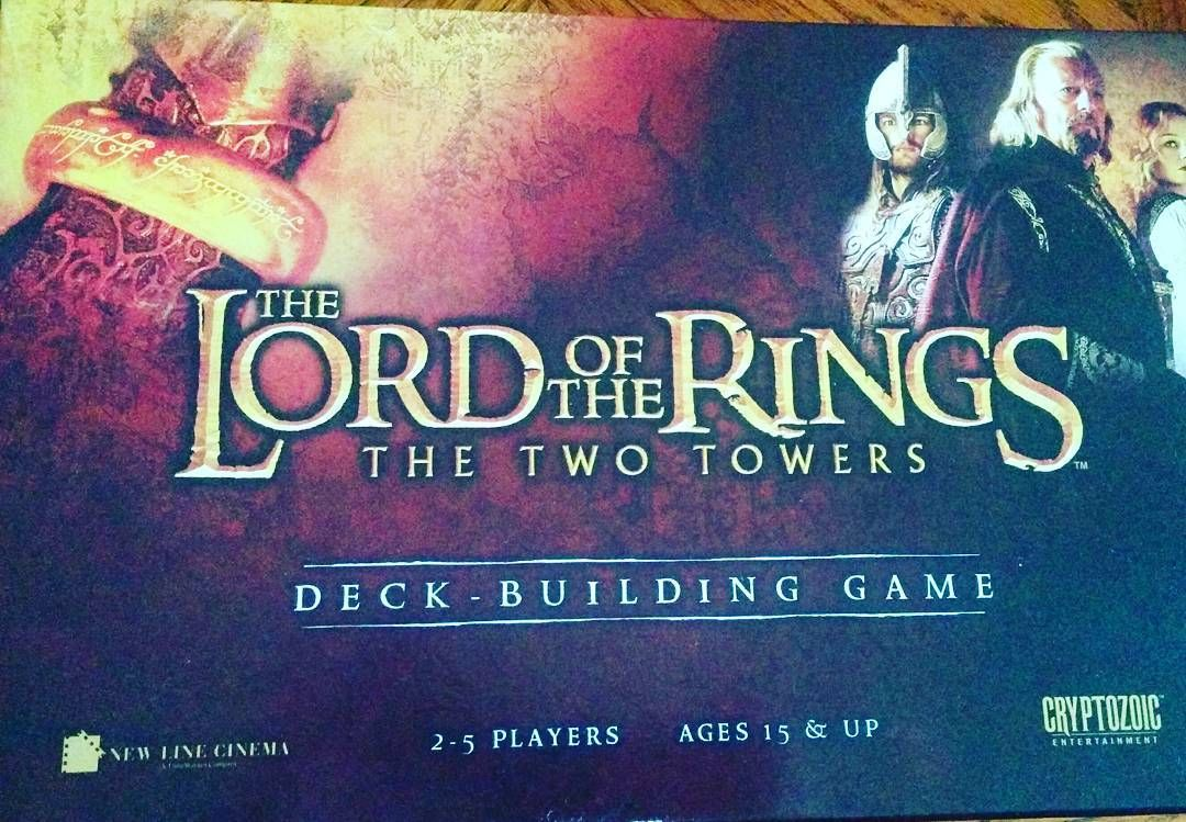 Spending a quality afternoon with my dad #lordoftherings #thetwotowers #cardgame