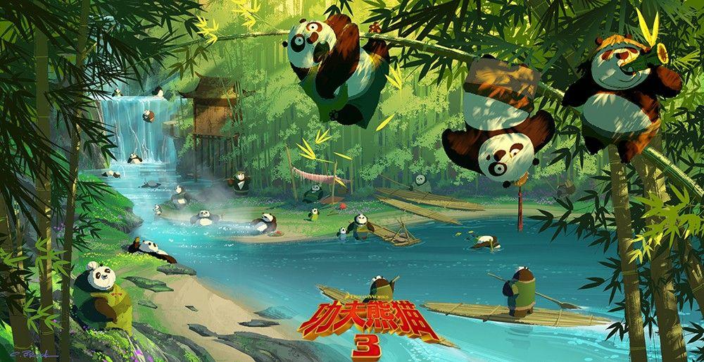 Additional Kung Fu Panda 3 Concept Art Released Online Rotoscopers Kung Fu Panda 3 Kung Fu Panda Concept Art