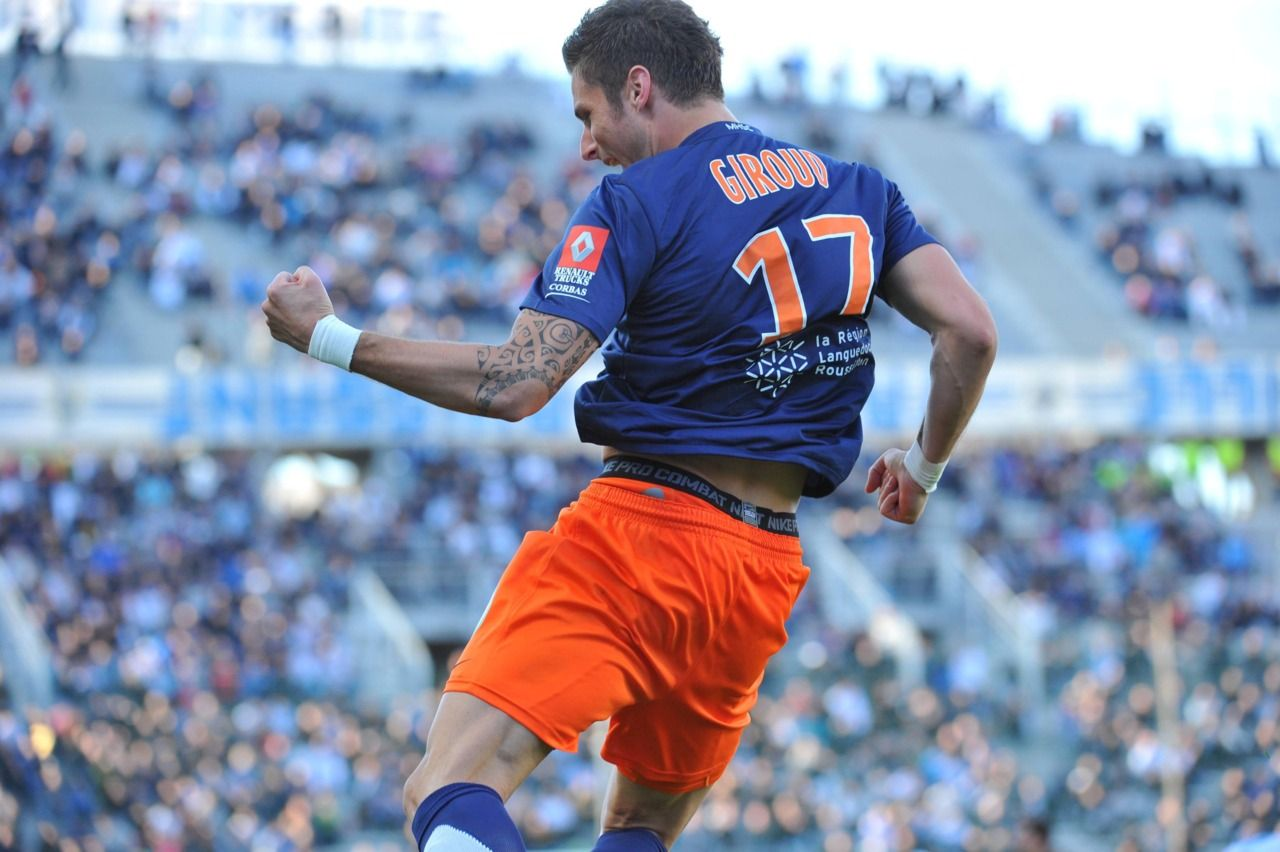 d5234eb9c4e Chris  Football Jersey Collection  2011-12 Montpellier HSC Olivier ...