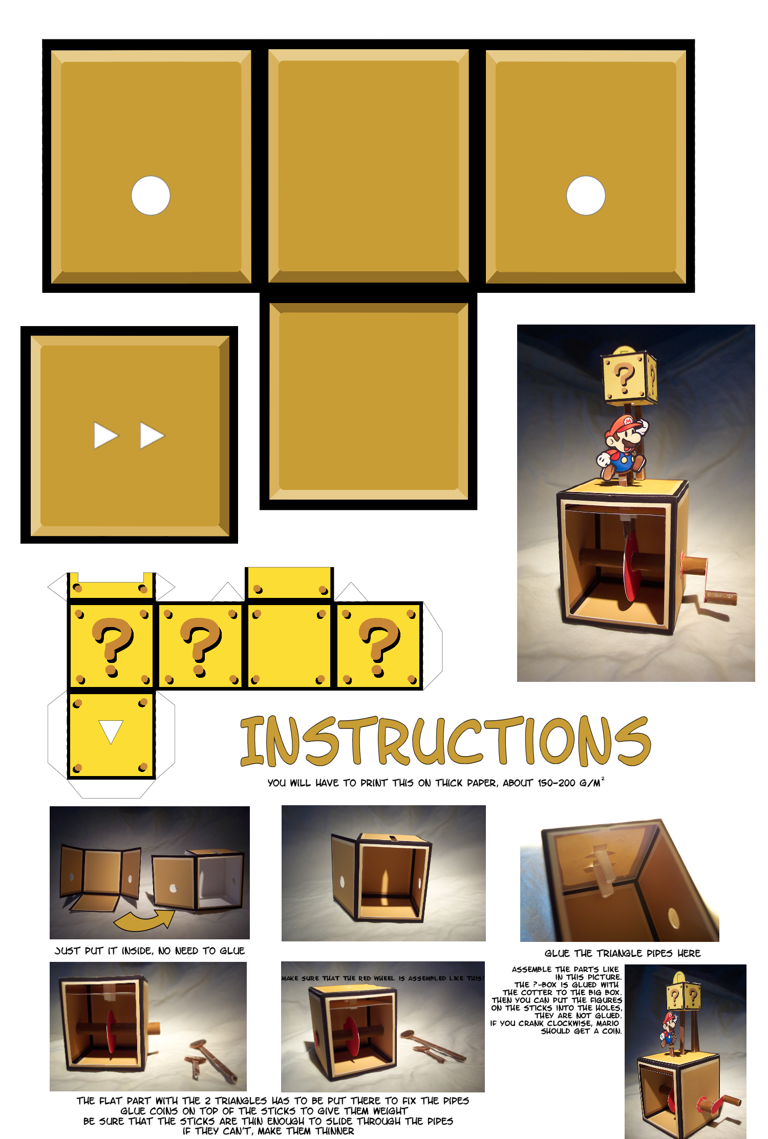 Easy Papercraft Templates Fresh 732 Best Paper Automata ...