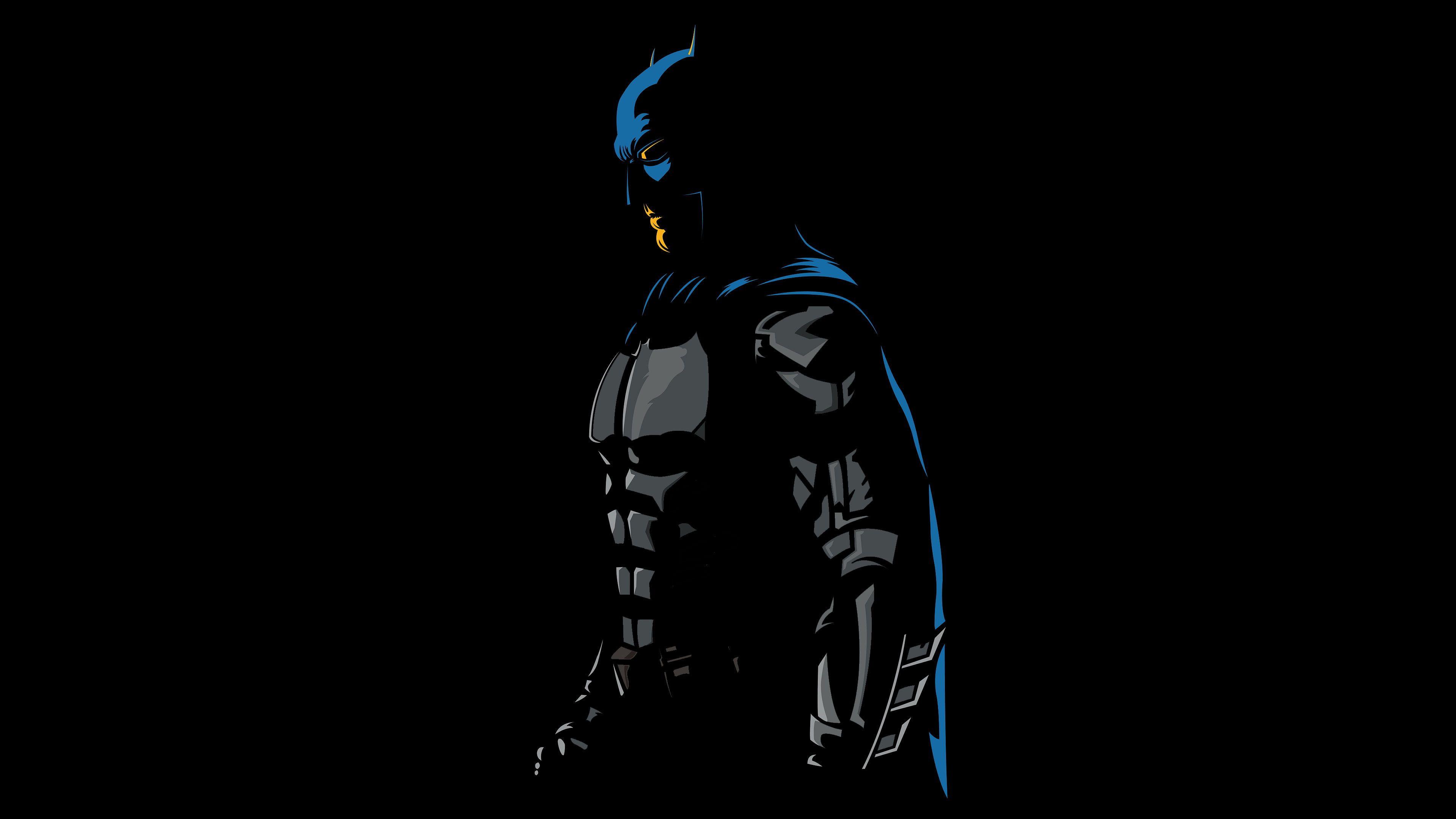 Batman Minimalism 4k Hd Artwork Artist Digital Art Superheroes Behance 4k Wallpaper Hdwallpaper Desktop Batman Wallpaper Art Wallpaper Hd Wallpaper
