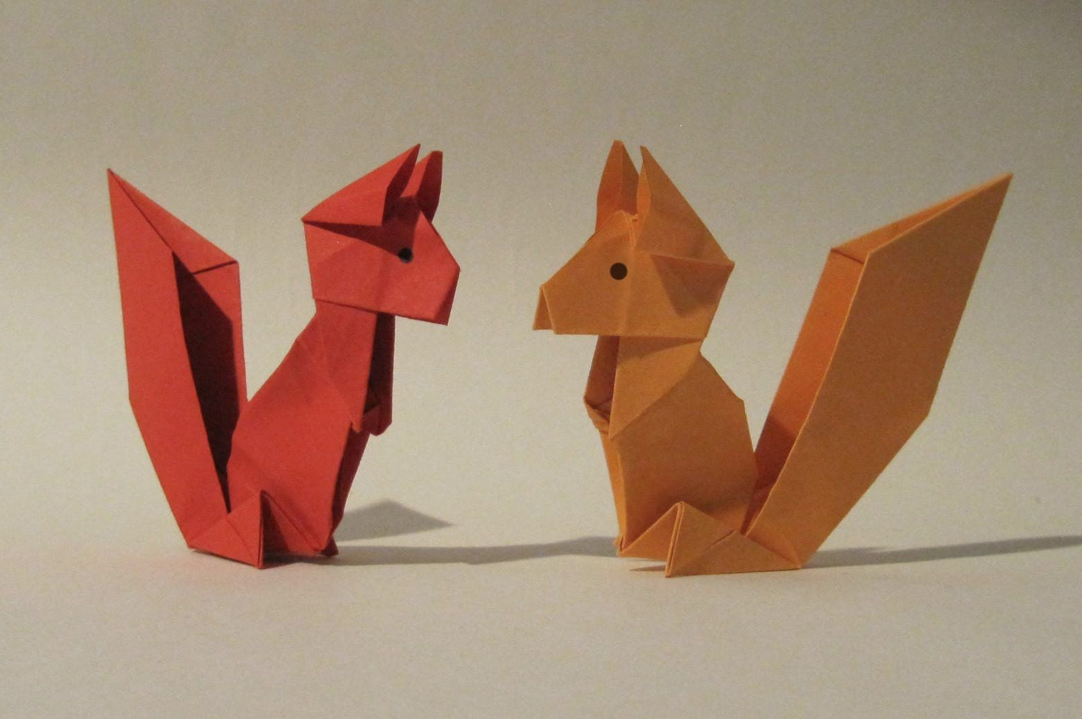 Origami Squirrel - Easy Origami Tutorial - How to make an ... - photo#47