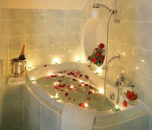 Salle de bain romantique | Romantique | Pinterest | Salle de bain ...