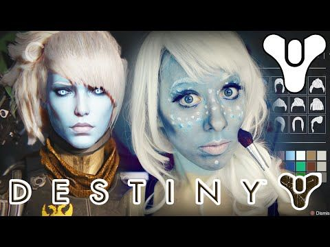 Destiny awoken cosplay how to apply face paint makeup for How to apply face paint