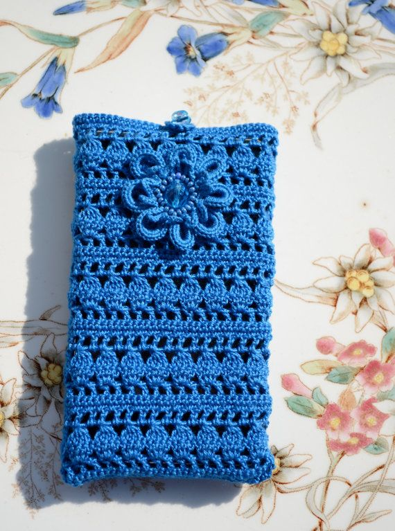 Crochet smartphone case, cover for i phone, accessoires for cellular ...