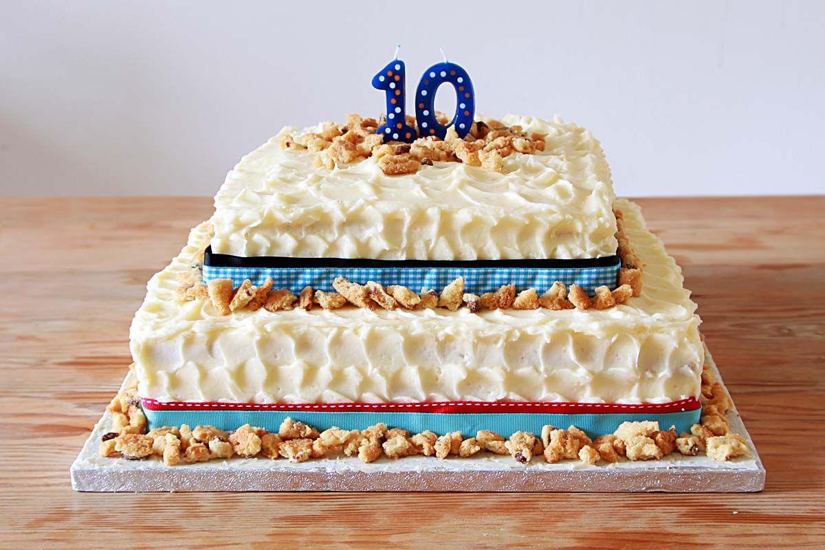 Cookies and Cream Celebration Cake for 10th Birthday.  Custom Cakes | Stephanie Robyn