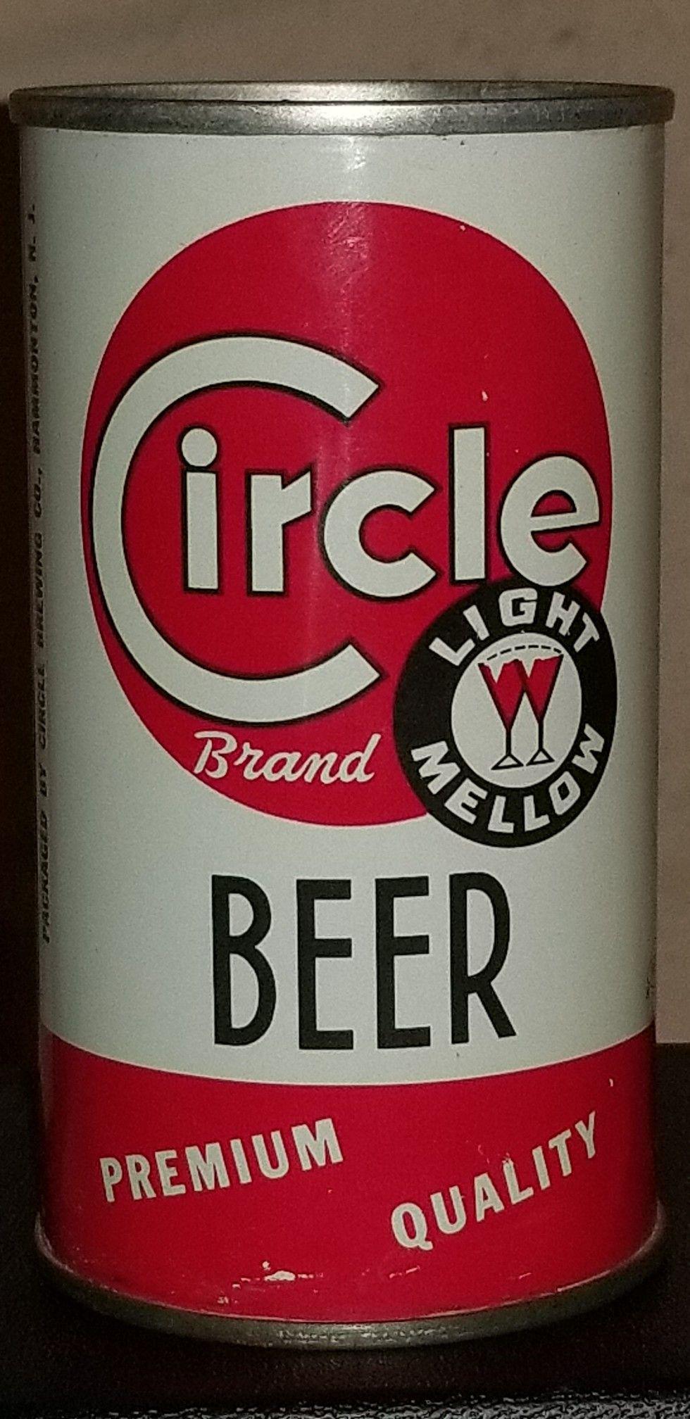 Circle Brand Beer Hammondton Nj 1970 Beer Brands Vintage Beer Beer House