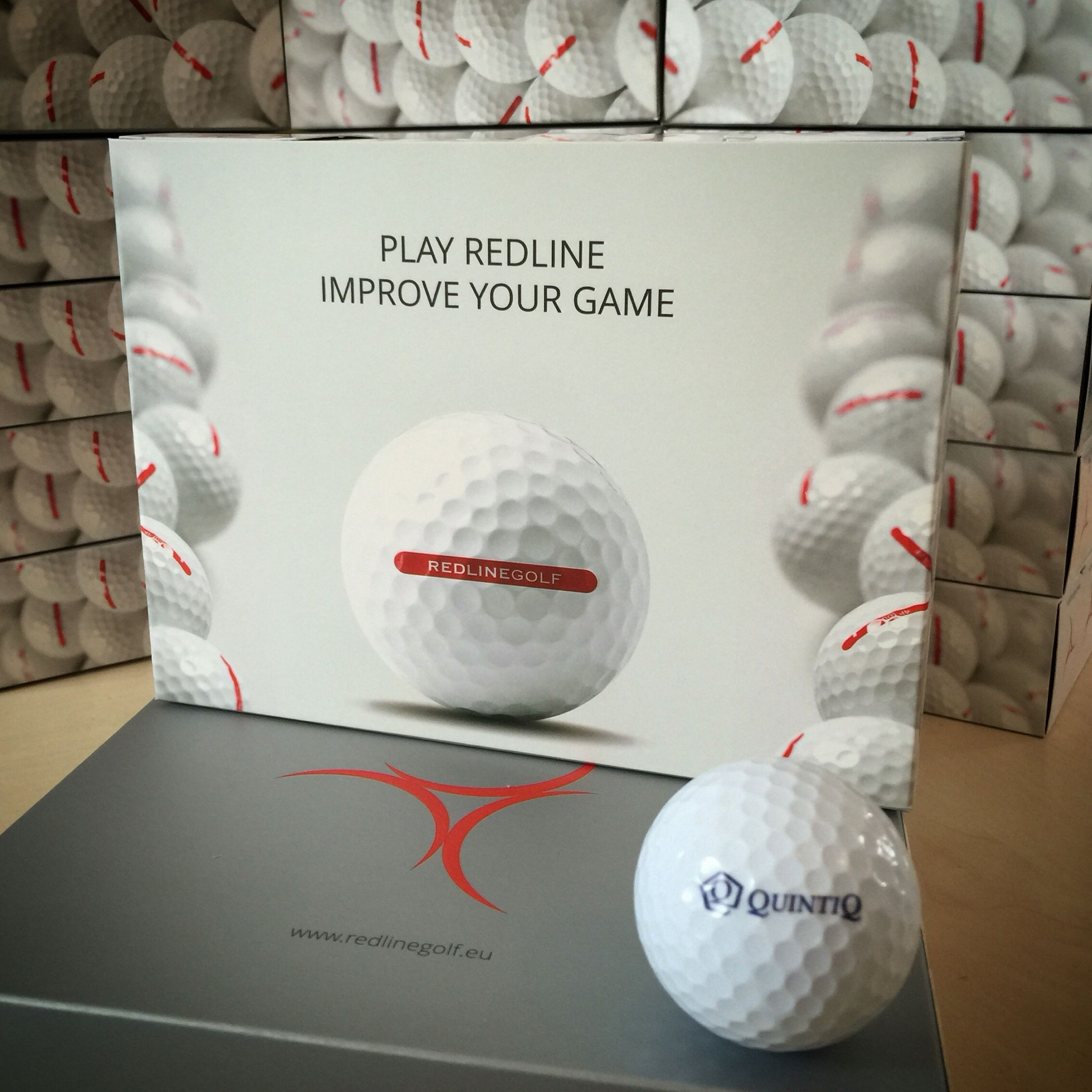 Our new sleeve boxes are in use! Looking awesome! #golfballs #customgolfballs