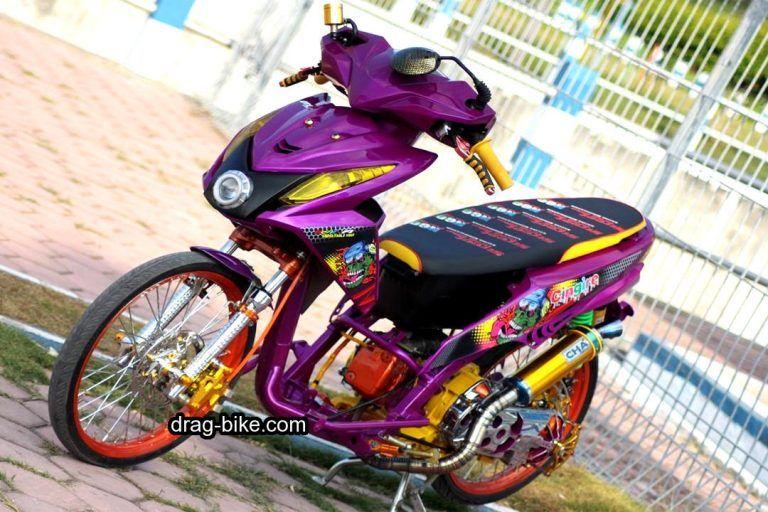 Modif Honda Beat Fi Street Racing Drag Racing Lowrider Dan Honda