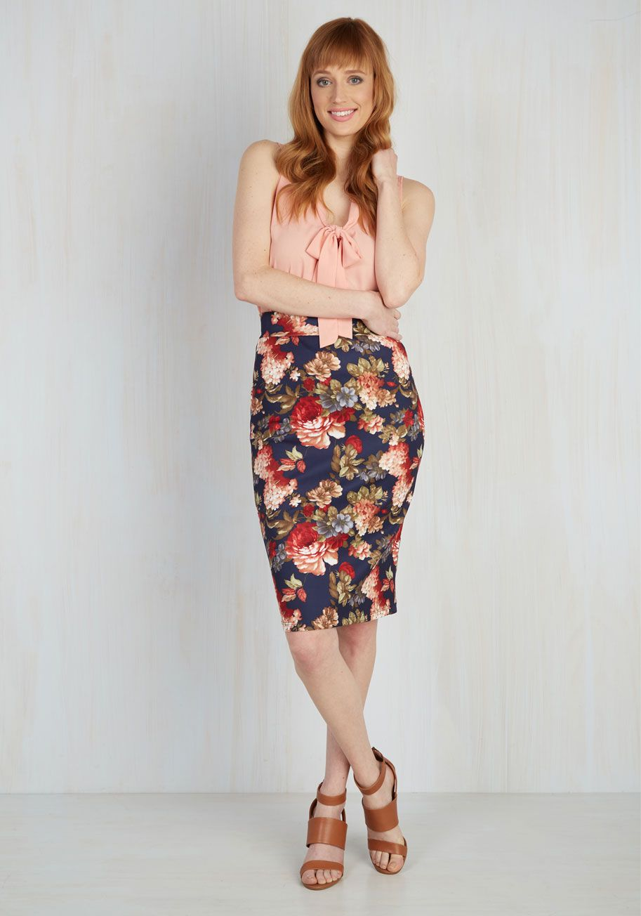 cc7932c494e ... Confidence Wide-Leg Cropped Pants in Rust. Conference Call the Shots  Skirt in Navy - Blue