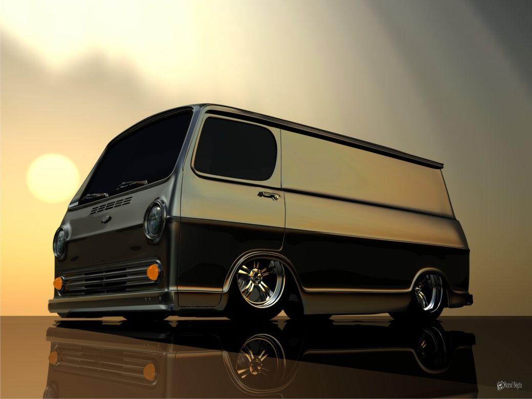 chevy van 1964 | Vintage vans, Custom vans, Chevy van
